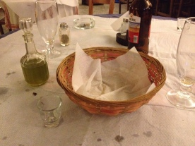 the aftermath of our pure olive oil experience.